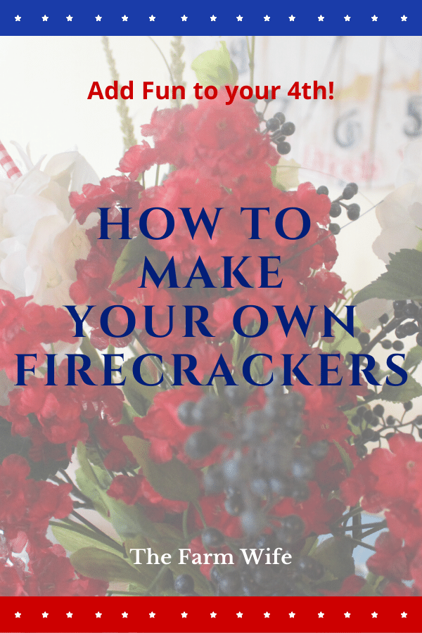Learn to Make your Own Firecrackers!