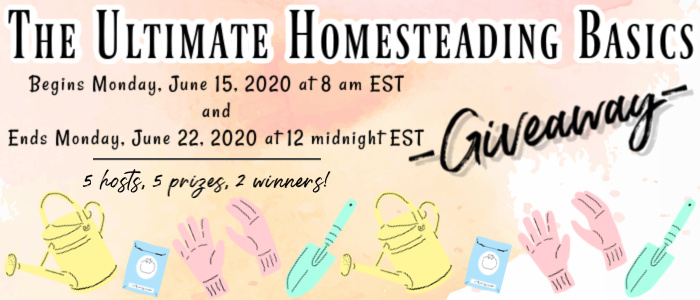 The Ultimate Homestead Basics Book Giveaway