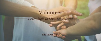 Volunteer - Learn how to live, love, serve