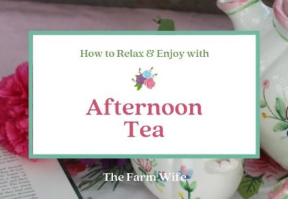 Relax & Enjoy with Afternoon Tea