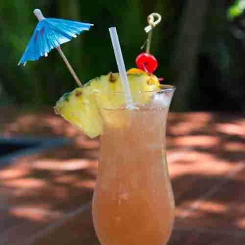Add fruit & an umbrella to your lemonade