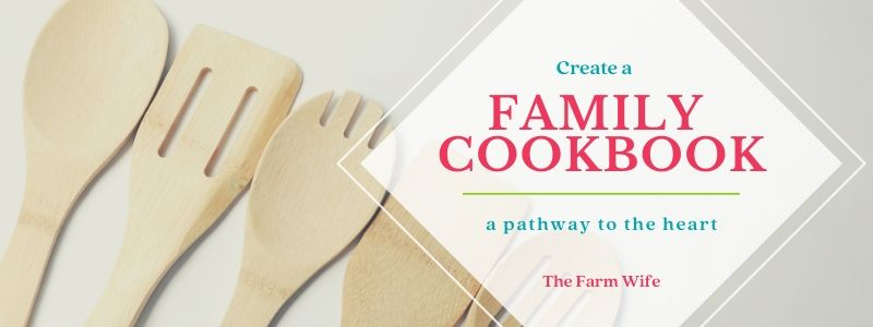 create your own family cookbook