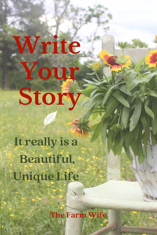 Write your beautiful unique Story