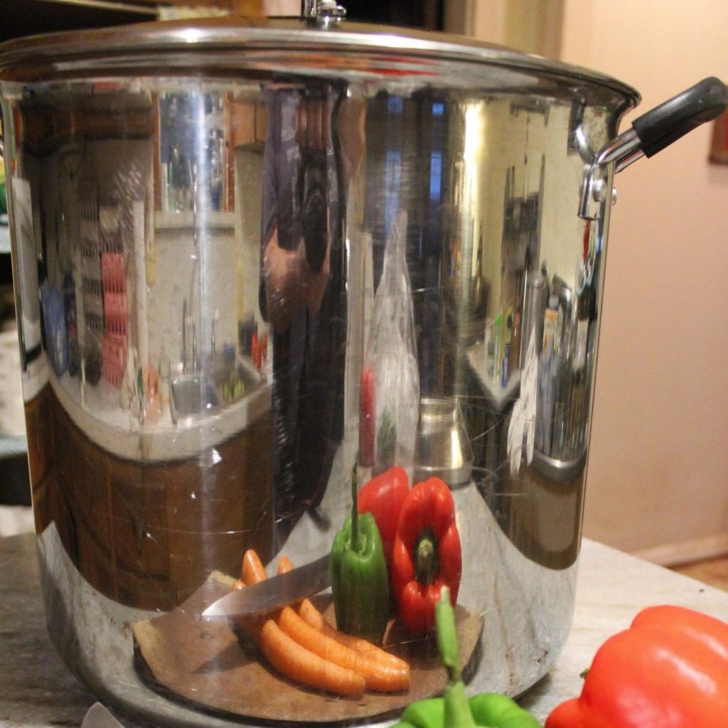 stainless steel pots are great for cooking