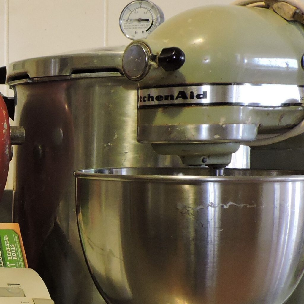 a kitchen-aid mixer is a great one to have