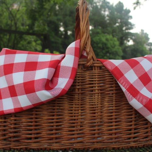 The perfect picnic basket is big and sturdy