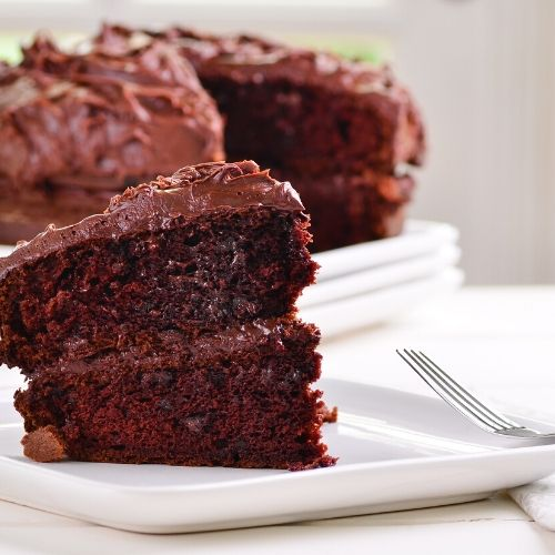 chocolate cake makes perfect portable summer fun