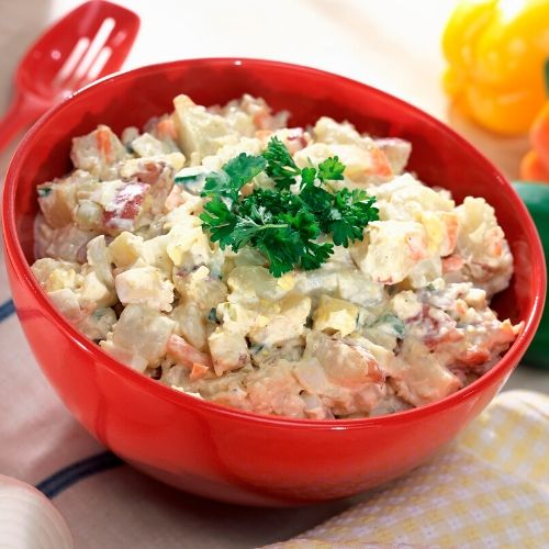 potato salad is an excellent choice for a picnic