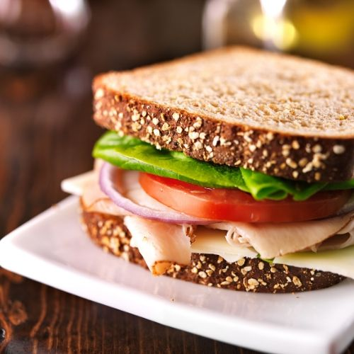 a simple sandwich is an easy meal