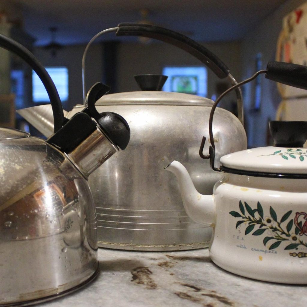 most kitchens work better with different size kettles