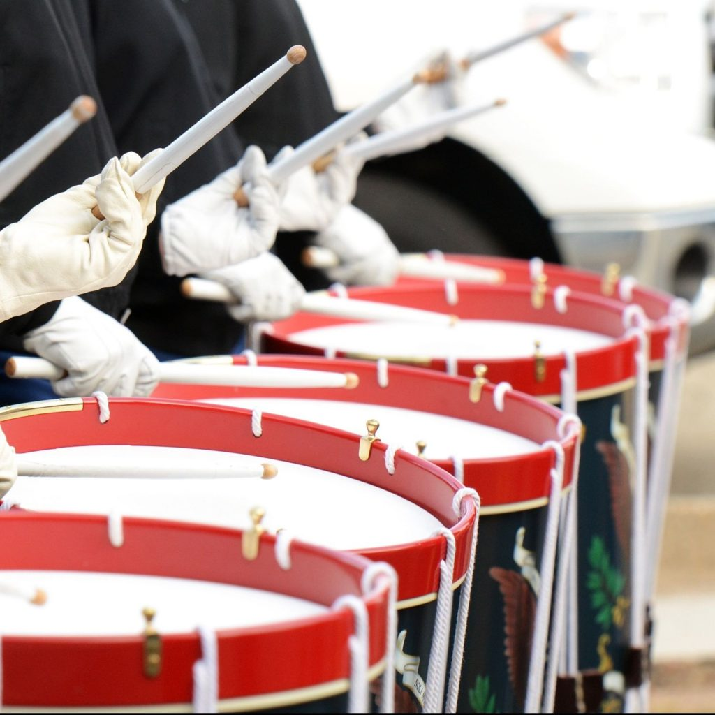 marching to the beat of a different drummer