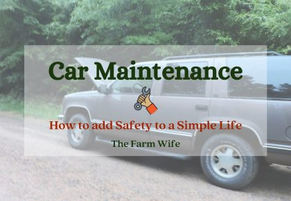 Car Maintenance for a safer simple life