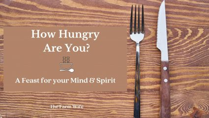 How hungry are you? Feed your mind & spirit