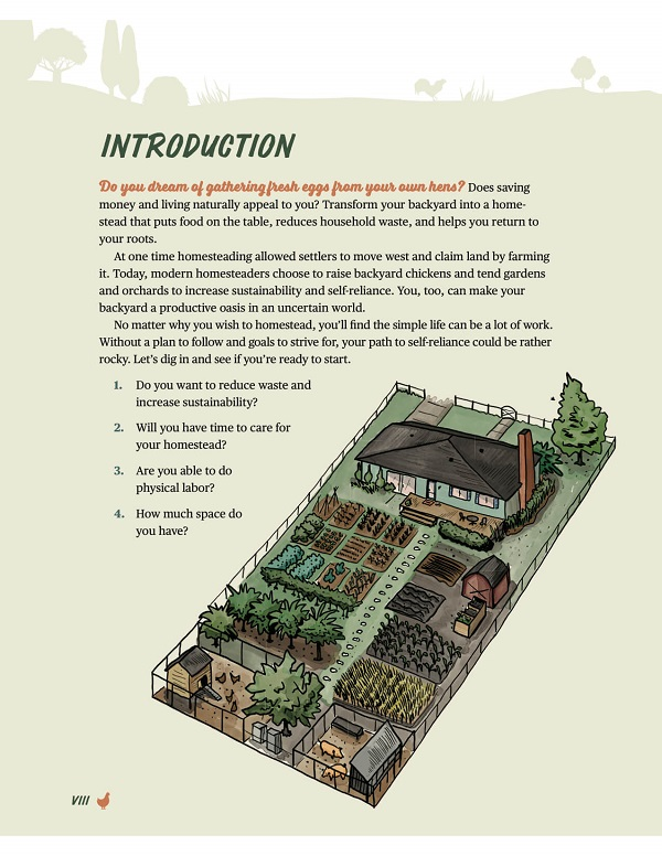 Review of The Beginners Guide to Backyard Homesteading