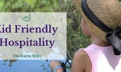 tips for kid friendly hospitality