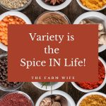 Variety is the Spice IN Life - Flavor your Simple Life!