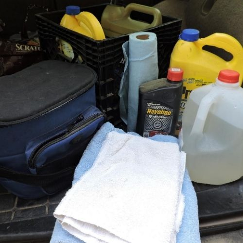 have a supply kit in your car in case of emergencies