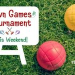 have fun this weekend with lawn games