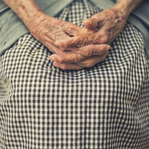 find comfort in grandma's apron