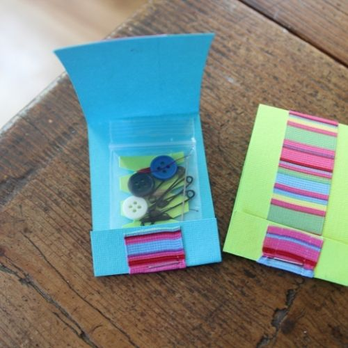 matchbook sewing kits