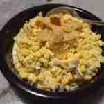 Corn Salad -Super Simple with a Surprisingly Crunchy Twist