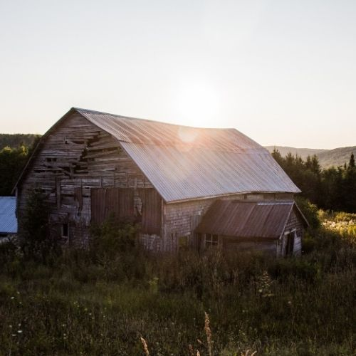 wealth means having the necessary things, like a new barn