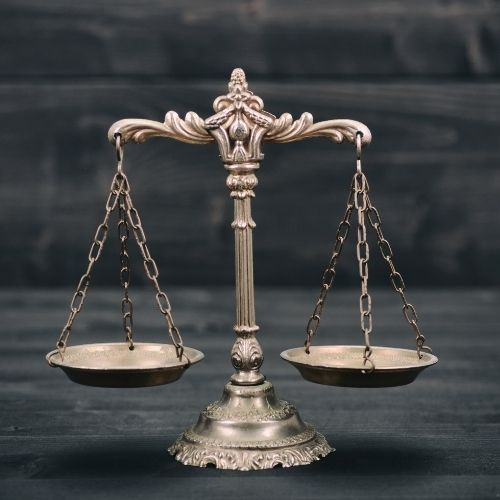 wealth in proportion is similar to a set of scales