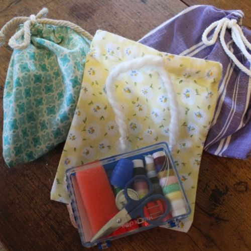 drawstring bag sewing kits