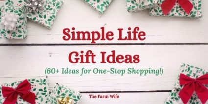 60+ Simple Gift Ideas for Christmas