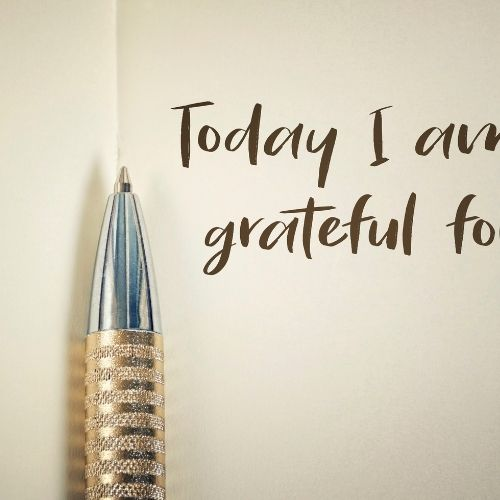 count your blessings with a Gratitude Jar