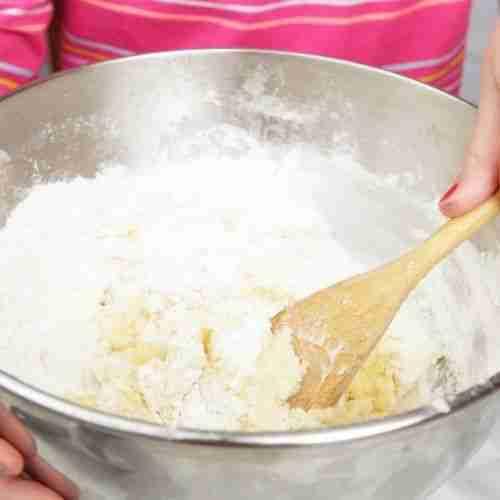 mixing bowl in preparation for plan ahead menus