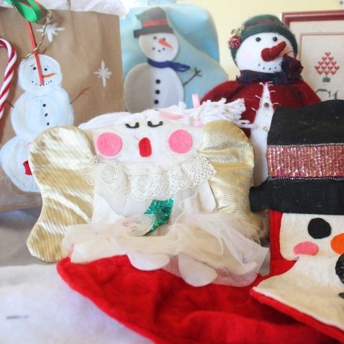 assorted handmade Christmas gift wrapping ideas