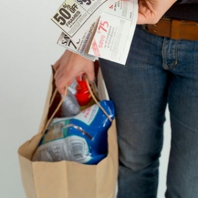 water, coupons, lists and more go into a Black Friday tool kit