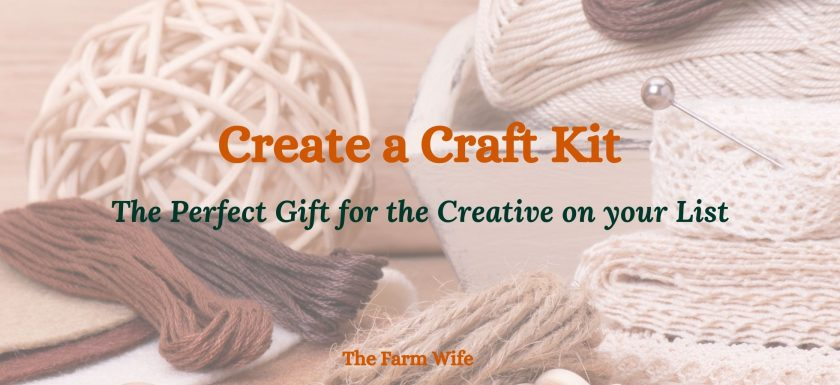 learn how to create a kit any crafter will love