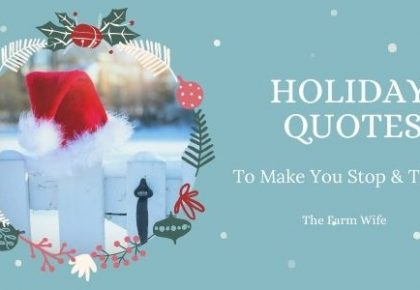 holiday quotes that make you think