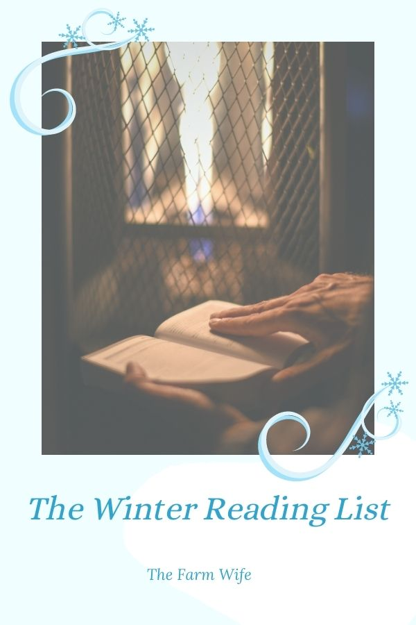 Relax & Enjoy! Curl up with a good book from the 1st Annual Winter Reading List