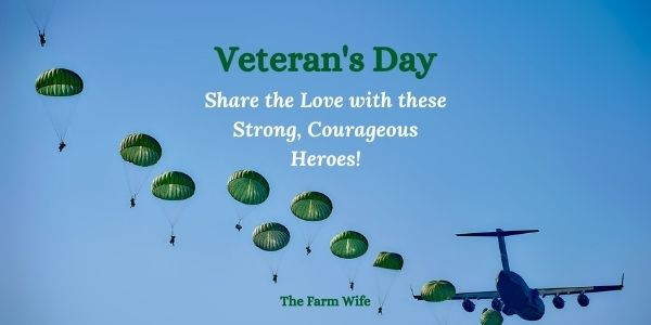share the love with our veterans