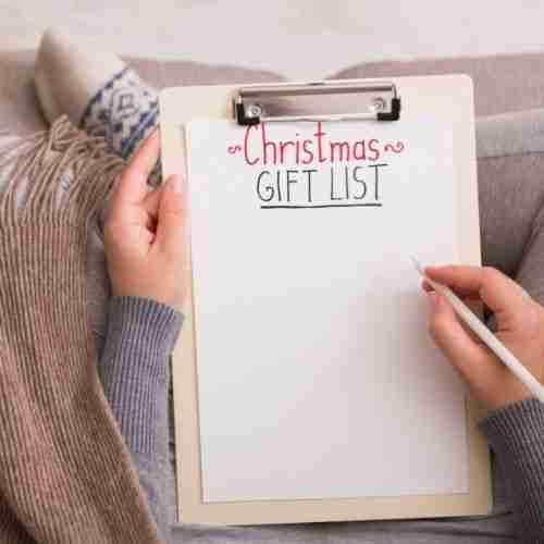 make out your Christmas Wish List