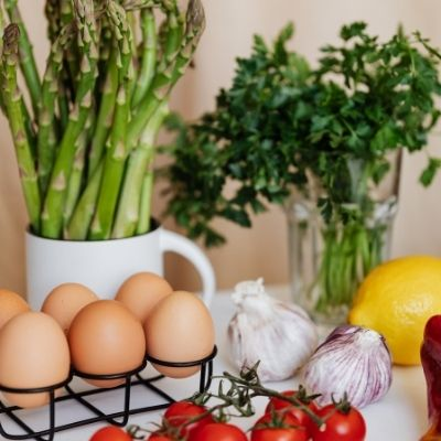 make a choice to live healthier with fresh food