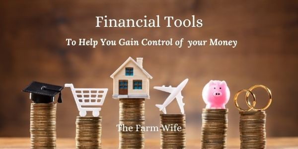 helpful financial tools to gain control of your money