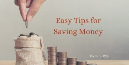 9 easy tips to save money