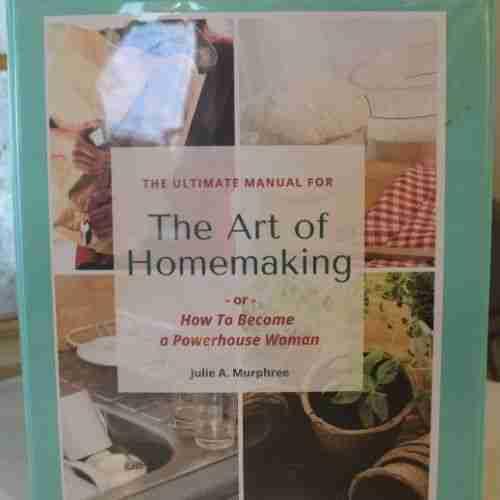 The Art of Homemaking notebook