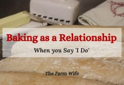 baking as a relationship - yeast bread