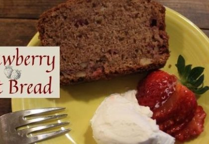 Strawberry Nut Bread - the Recipe