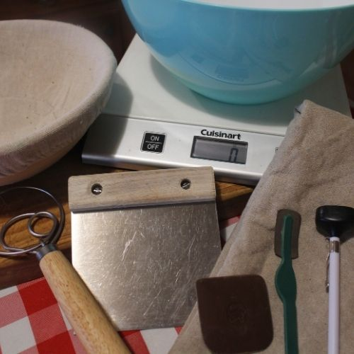 baking bread as a relationship - the equipment