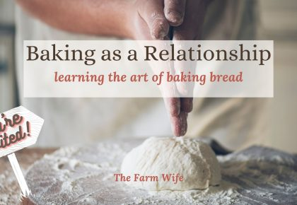 baking bread as a relationship - join the party
