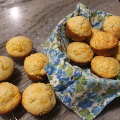 quick breads - the finished muffins