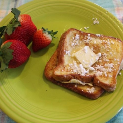 use a loaf of bread to make french toast