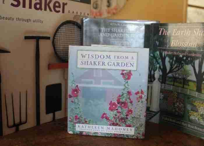 books on shaker gardens