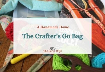 crafters go bag